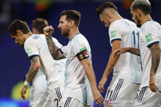 Kualifikasi Piala Dunia 2022 Amerika Selatan: Penalti Messi antarkan kemenangan Argentina lawan Ekuador