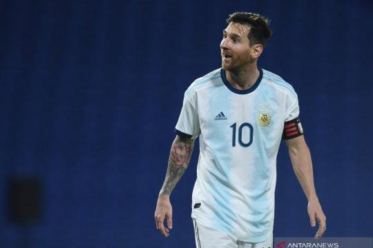 Messi akui timnas Argentina bermain gugup saat kalahkan Ekuador 1-0