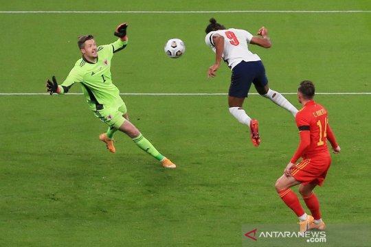 Calvert-Lewin cetak gol dalam debut, Inggris atasi Wales 3-0