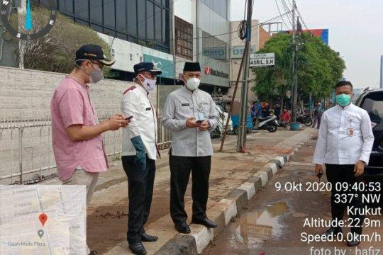 Jakarta Barat inventarisasi kerusakan fasum akibat aksi massa