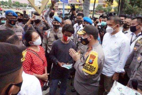 Polda Jatim tetapkan 14 tersangka kerusuhan demo tolak UU Cipta Kerja