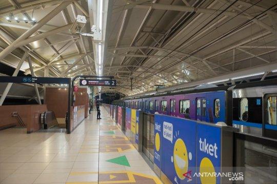 Layanan MRT Stasiun Bundaran HI ditutup