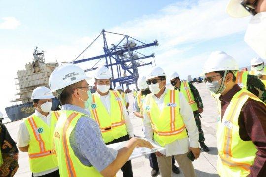 Pelindo I lakukan percepatan pengembangan Pelabuhan Kuala Tanjung