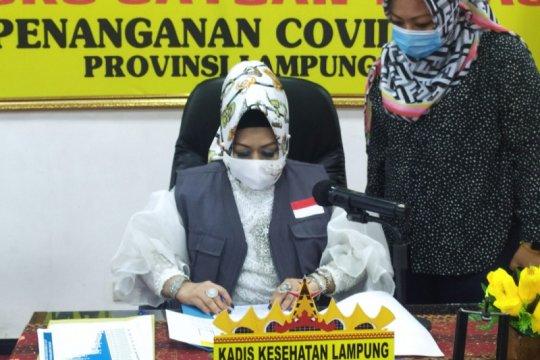 Kasus COVID Lampung bertambah 16 total jadi 1.105