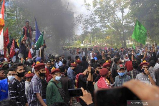Polisi: Aksi  unjuk rasa di Kupang langgar protokol kesehatan