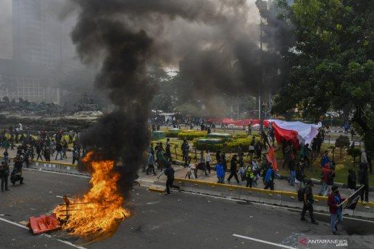 Polisi awasi lima titik kumpul buruh di Jakarta Timur