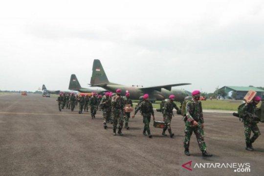 600 personel Brigade Infantri 4 Marinir/BS diberangkan ke Jakarta