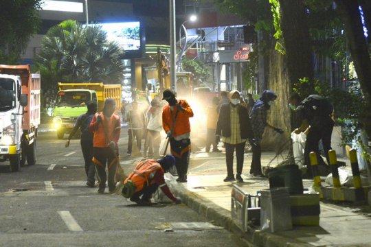 Surabaya benahi fasilitas publik yang rusak usai demonstrasi