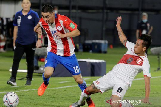 Kualifikasi Piala Dunia 2022 Amerika Selatan: Paraguay bermain imbang 2-2 lawan Peru