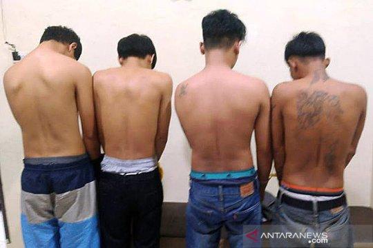Empat warga Sumbar ditangkap saat angkut 85 Kg ganja di Nagan Raya
