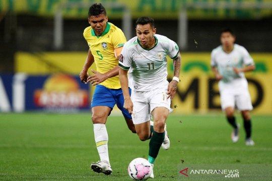 Casemiro minta Brazil diselamati setelah cukur Bolivia 5-0