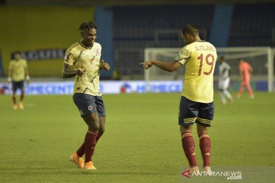 Muriel dua gol, Kolombia awali kualifikasi Piala Dunia dengan gemilang