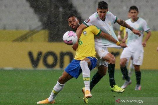 Klasemen kualifikasi Piala Dunia zona CONMEBOL: Brazil memimpin