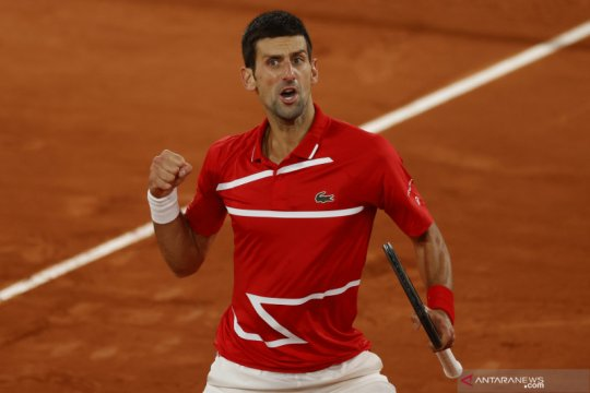 Tenis French Open: Djokovic melaju ke final menantang Nadal