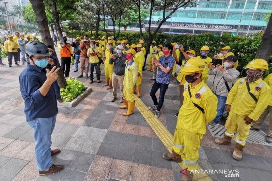 Anies sebut TransJakarta tanggung biaya perbaikan halte rusak