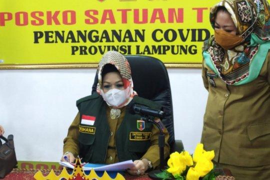 Kasus kematian akibat COVID-19 di Lampung bertambah 2 total jadi 41