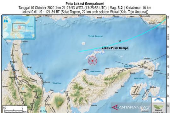 317 gardu listrik terdampak gempa di Sulawesi Tengah telah pulih