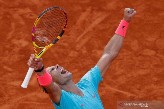 Tenis French Open: Nadal melaju ke final setelah kalahkan Diego Schwartzman