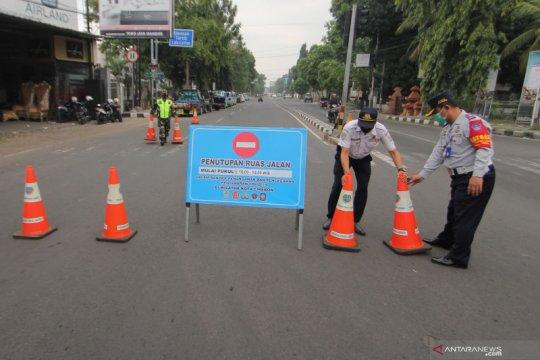 Pemerintah Kota Cirebon buka tutup sembilan titik jalan raya