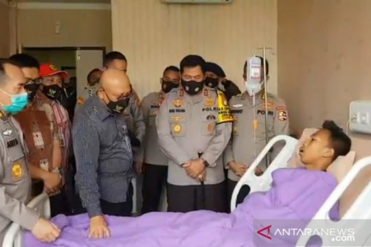 RS Polri rawat 30 aparat terluka dalam aksi massa