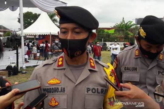 Polisi tangkap 149 peserta demo anarkis di Magelang