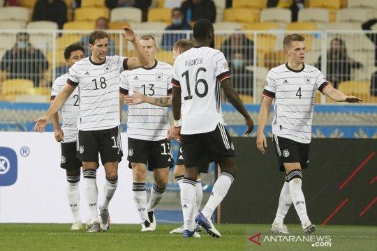 Jerman raih kemenangan perdana di Ukraina