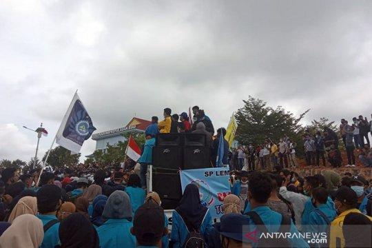 """Pemprov Kepri kecam """"penumpang gelap"""" dalam demonstrasi"""