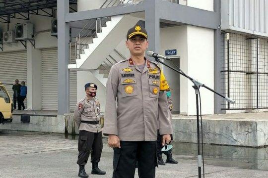 Empat SSK Personel Brimob Polda Sumut dikirim ke Jakarta