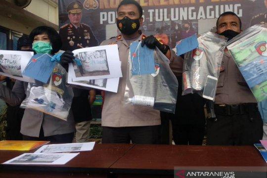"""Polisi tangkap enam remaja pelaku vandalisme """"omnibus law"""""""