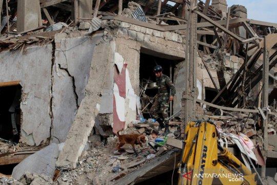 Azerbaijan hancurkan dua gudang amunisi Armenia