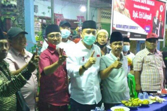 Cawali Eri Cahyadi dapat dukungan warga Madura pada Pilkada Surabaya