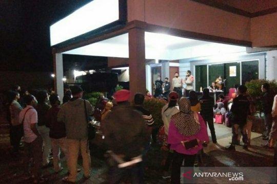 Polisi pulangkan mahasiswa dan pelajar aksi massa di Palembang