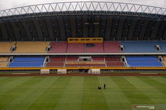 Memoles Stadion Jakabaring jelang Piala Dunia U-20