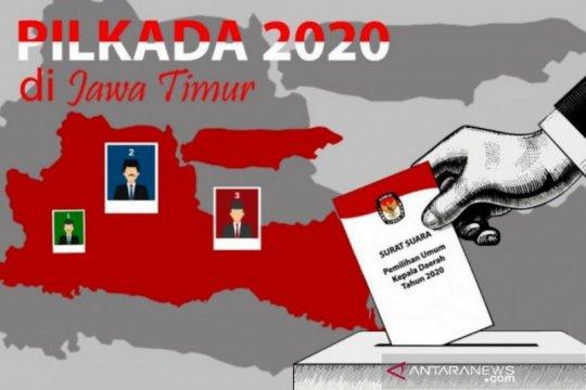 KPU Jatim proses tiga anggota DPRD provinsi karena maju Pilkada 2020