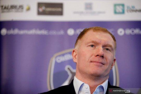 Salford City tunjuk Paul Scholes sebagai pelatih sementara