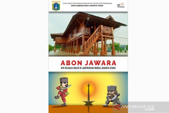 Suku Dinas KPKP Jakarta Utara jual produk Jakpreuner secara daring