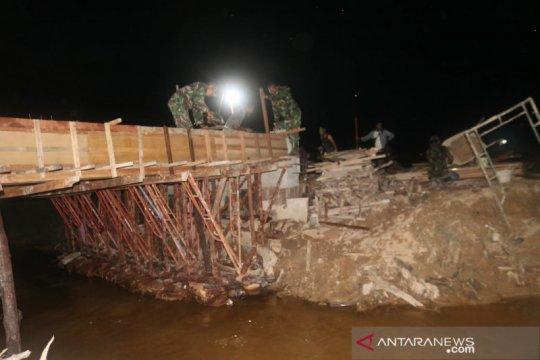 Satgas TMMD maksimalkan pengerjaan jembatan di Tarakan