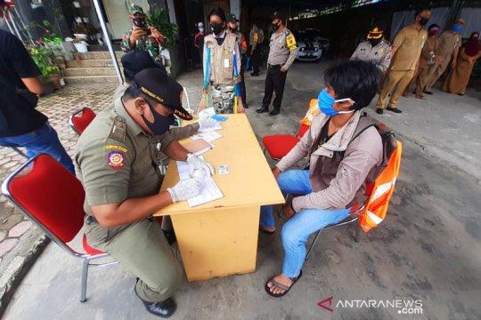 Satpol PP Banjarmasin sampai tiga kali sehari operasi masker di jalan