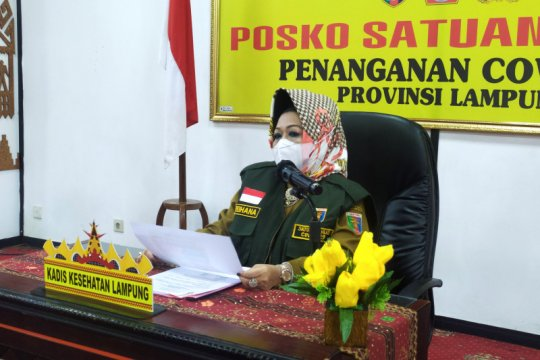 Kasus positif COVID di Lampung bertambah 16 total jadi 1147