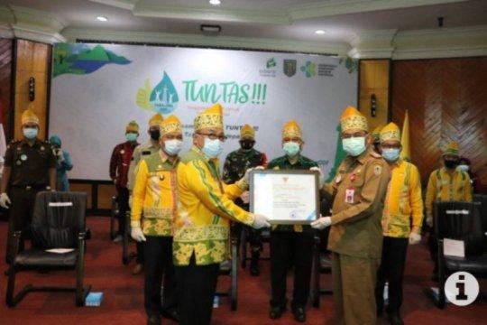 Tabalong kabupaten pertama deklarasi bebas BAB sembarang di Kalimantan