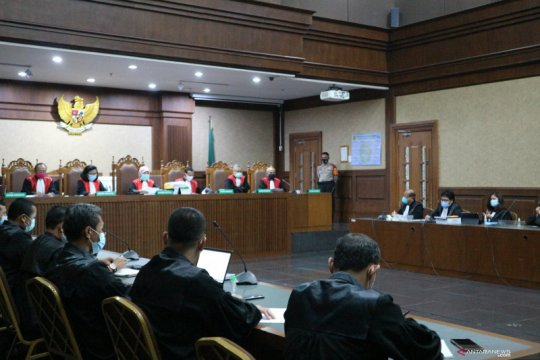Hukum kemarin, vonis terdakwa Jiwasraya hingga asimilasi Bahar Smith