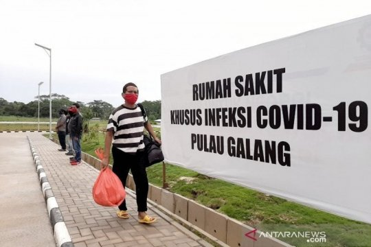 RSKI Pulau Galang rawat 208 pasien positif COVID-19