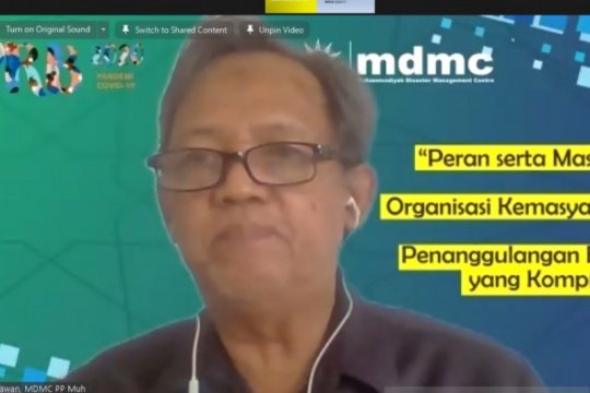 Muhammadiyah: Kapabilitas masyarakat penting turunkan risiko bencana