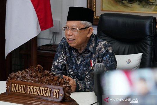 Wapres: Omnibus Law tingkatkan daya saing Indonesia di tingkat global