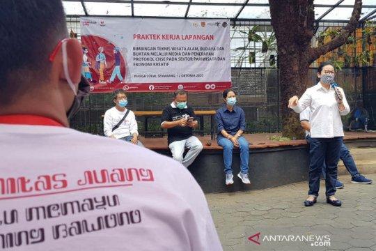 300-an milenial di Jateng dilatih promosi wisata berprotokol kesehatan