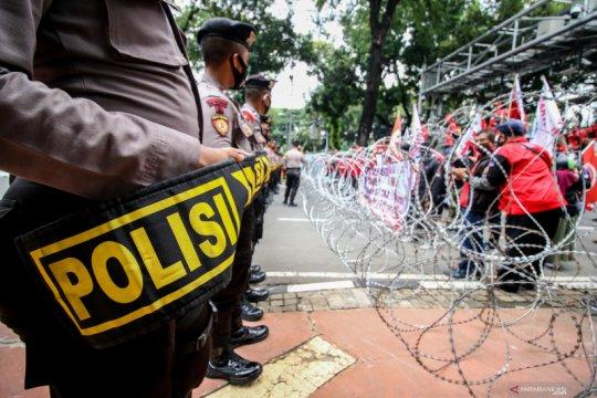 KSPI serukan tidak akan ada kekerasan dalam aksi buruh lanjutan