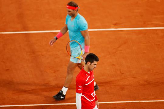 Lawan Djokovic, Nadal tak mau jemawa dengan rekor di Roland Garros