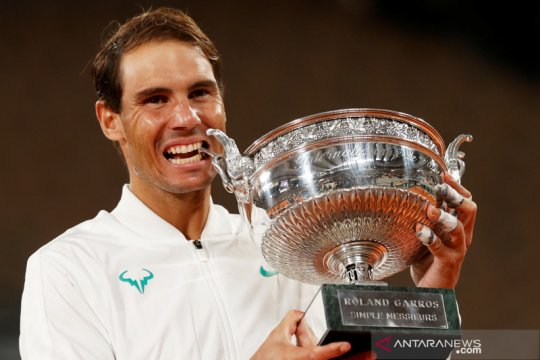 Nadal pastikan ambil bagian dalam turnamen Paris Masters 2020