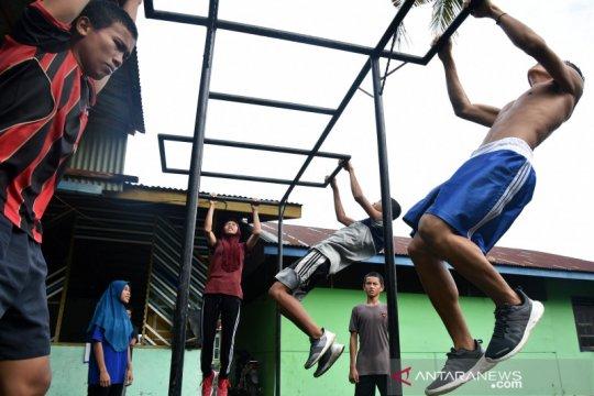 Menengok tempat pembibitan atlet tinju di Riau