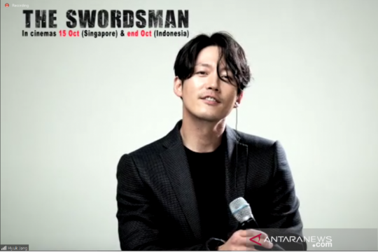 "Jang Hyuk & Joe Taslim latihan ekpresi & bahasa di ""The Swordsman"""